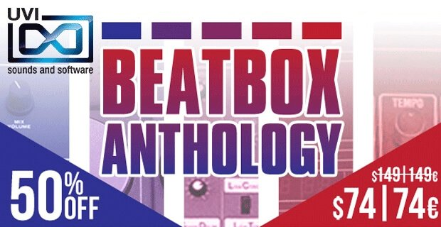 UVI Beat Box Anthology sale