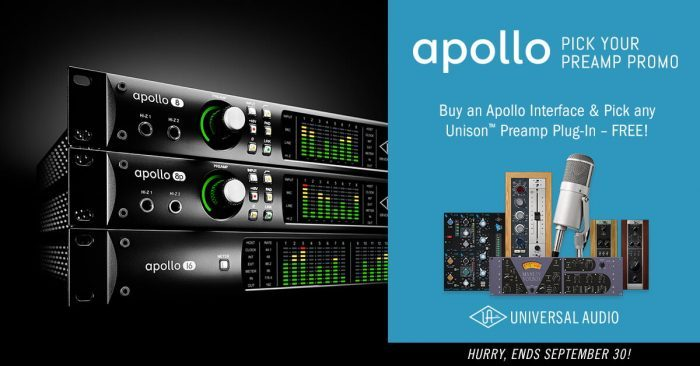 Universal Audio Apollo Rackmount promo