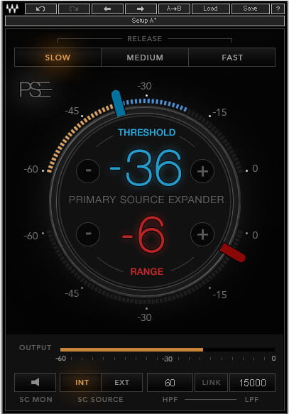 Waves Primary Source Expander
