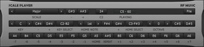 rf Music Scale Player