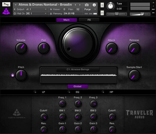 Audio Imperia Traveler - Aurus