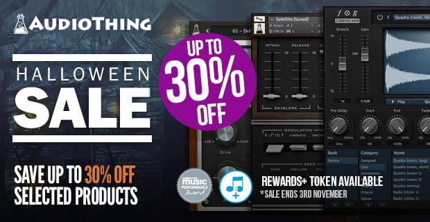 AudioThing Halloween Sale