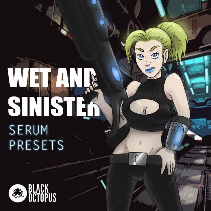 Black Octopus Wet & Sinister Serum Presets