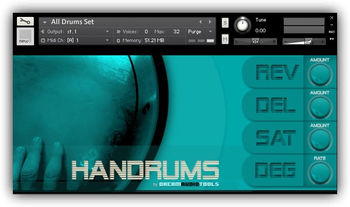 Dream Audio Tools Handrums