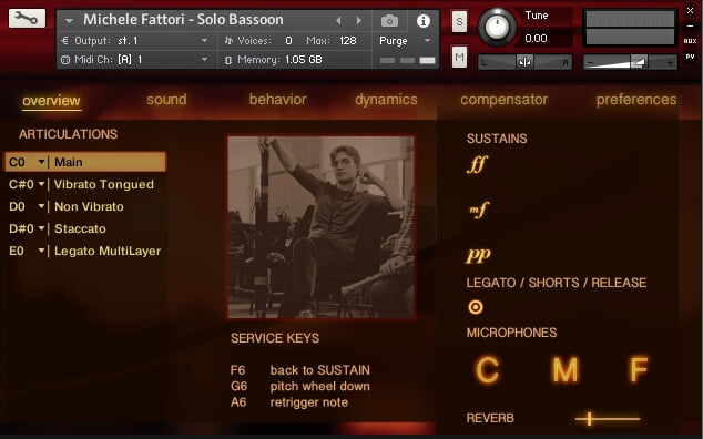 FluffyAudio Solo Bassoon