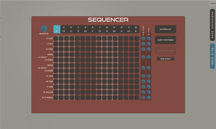 GuDa AUdio DrumR 2.2 sequencer