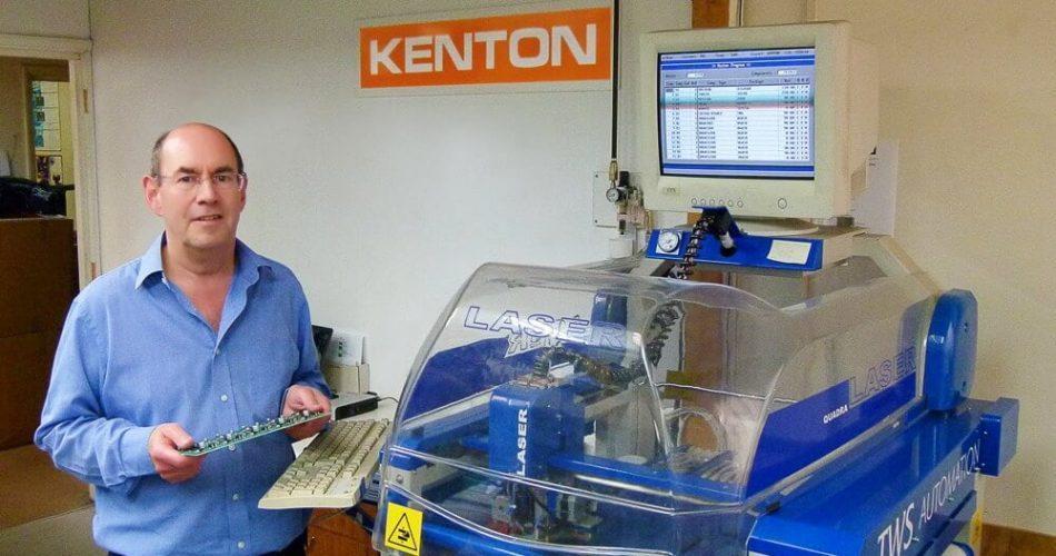 John K. Price at Kenton