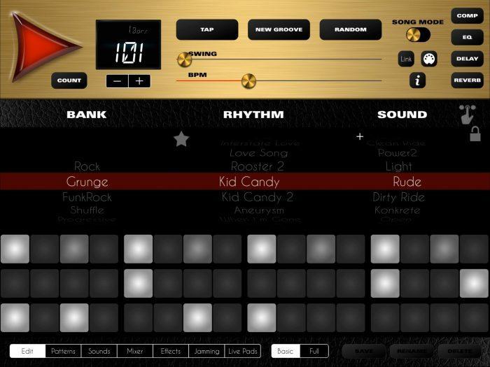 LumBeat Rock Drum Machine 4