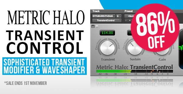Metric Halo TransientControl sale