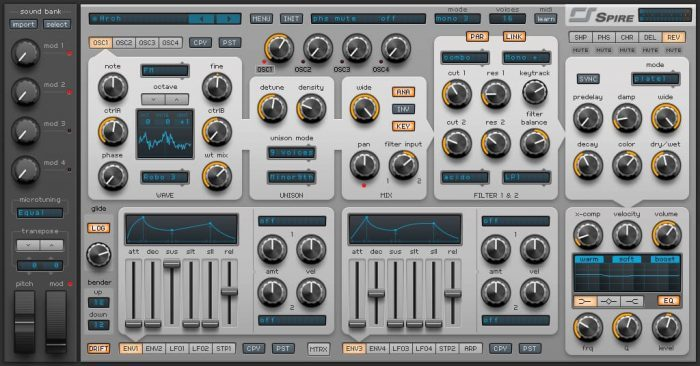 New Loops Elektro Synth for Spire