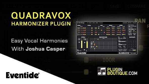 Eventide Quadravox easy vocal harmonies