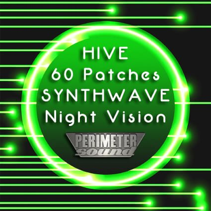 Perimeter Sound Synthwave: Night Vision for Hive