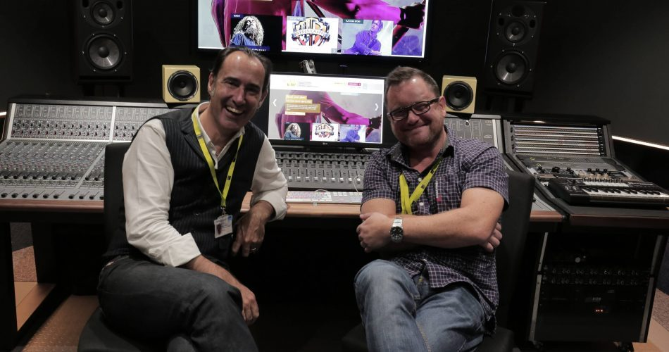 Pete Whittard (Director ICMP) & Mike Sinnot (Factilities Manager)