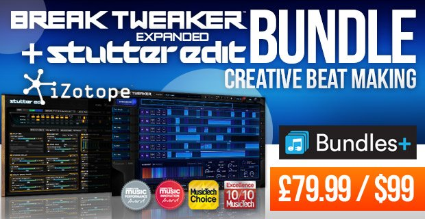 Plugin Boutique BreakTweaker Extended Stutter Edit Bundle