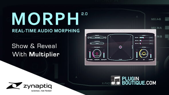 Plugin Boutique Morph 2 show & reveal