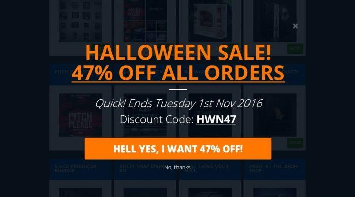 Producers Choice Halloween Sale