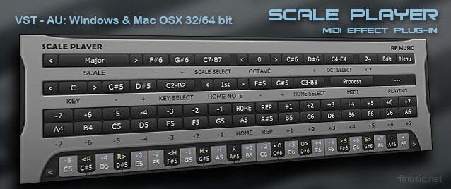 rf Music Scale Player beta5
