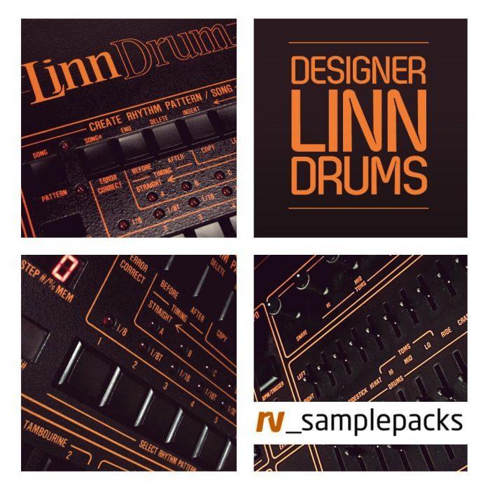 RV Samplepacks Designer Linn Drums