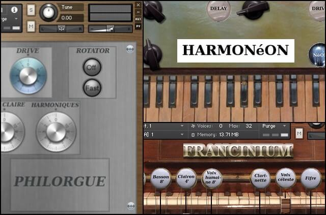 Rossignol Studio Keyboards Bundle