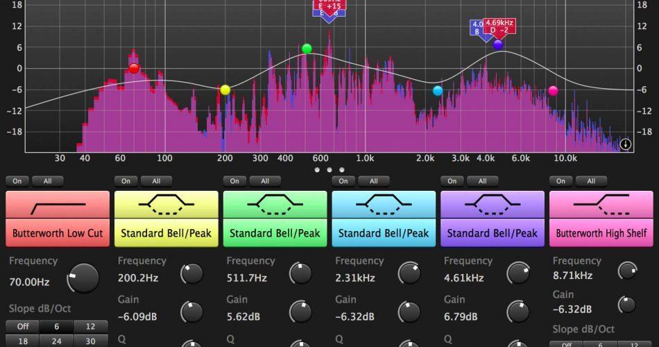 SIR Audio Tools StandardEQ Jet Black skin