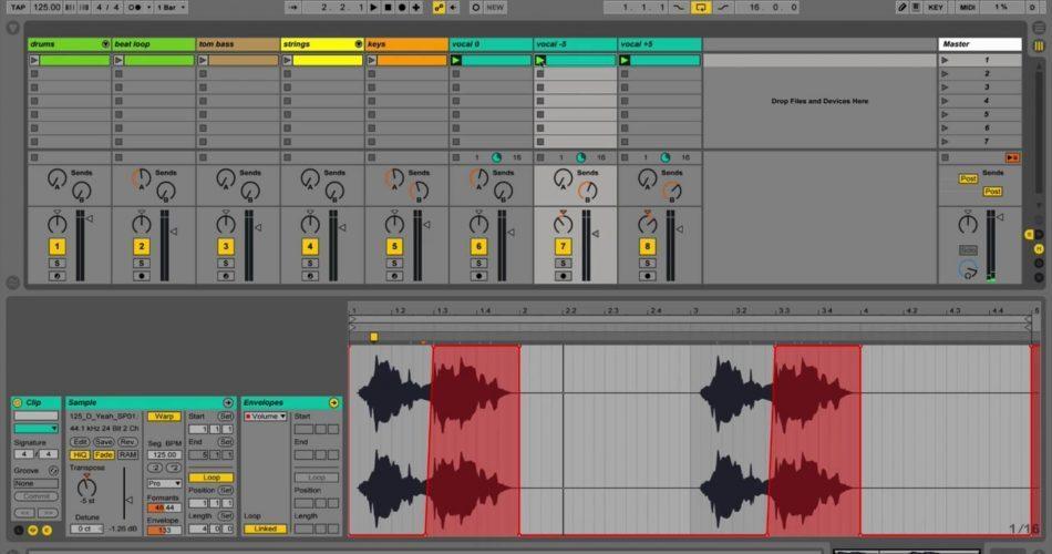 SubBass Academy Ableton Complex Pro Warp on Vocals