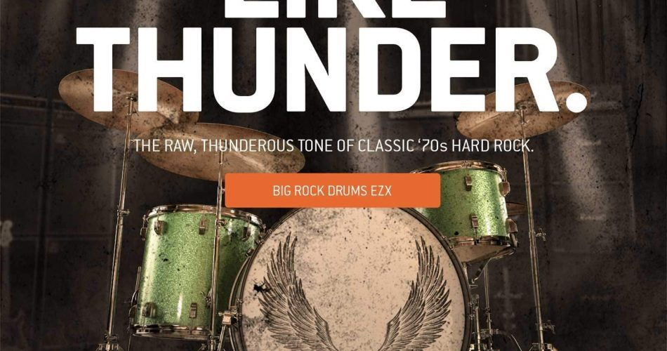 Toontrack Big Rock Drums EZX feat