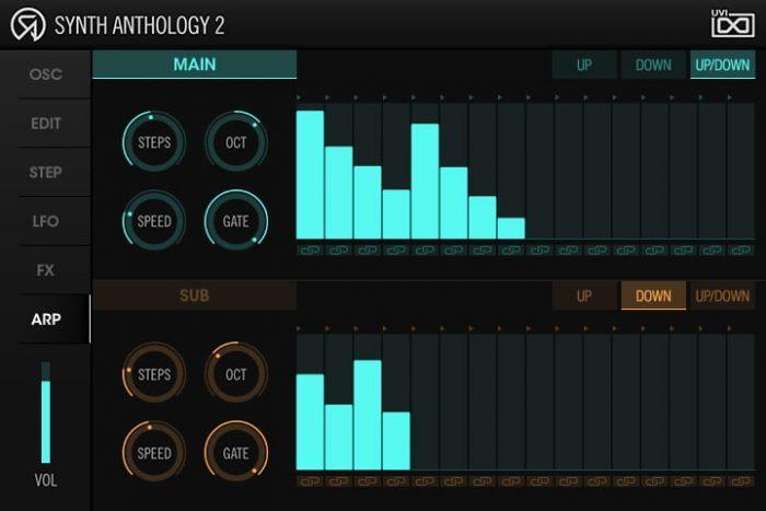 UVI Synth Anthology 2 arp