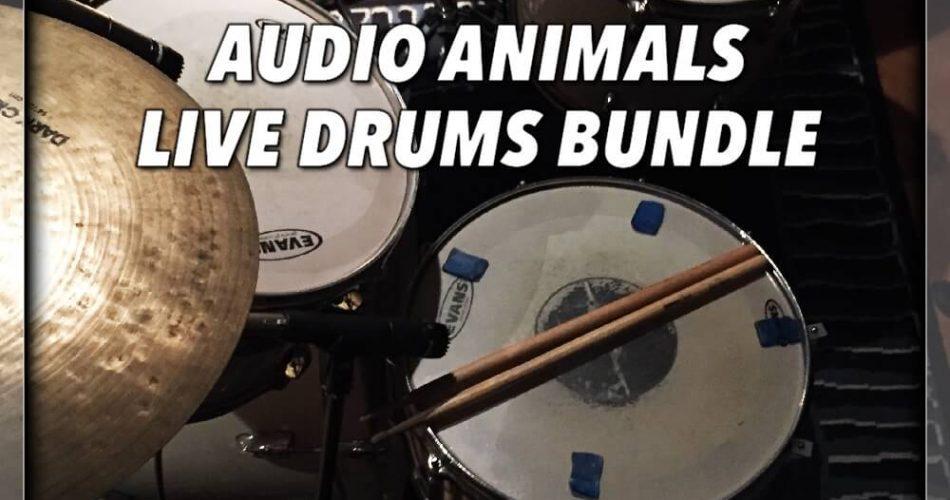 VST Buzz Audio Animals Live Drums Bundle