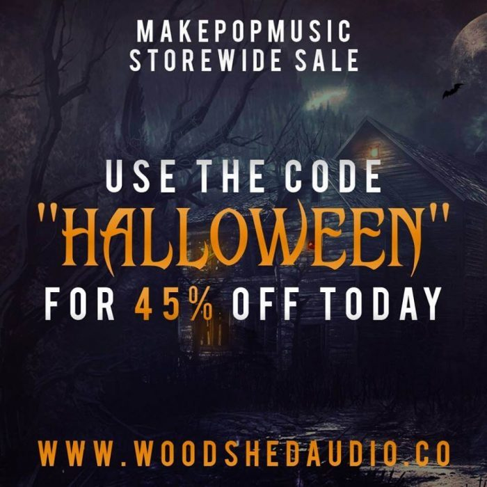 Woodshed Audio Halloween Sale