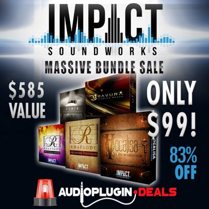 Audio Plugin Deals Impact Soundworks Orchestral Bundle