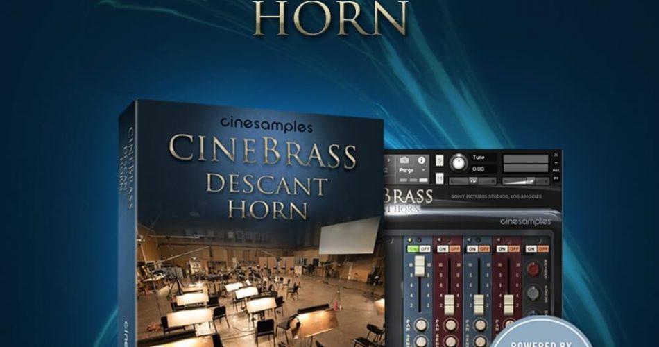 Cinesamples CineBrass Descant Horn feat