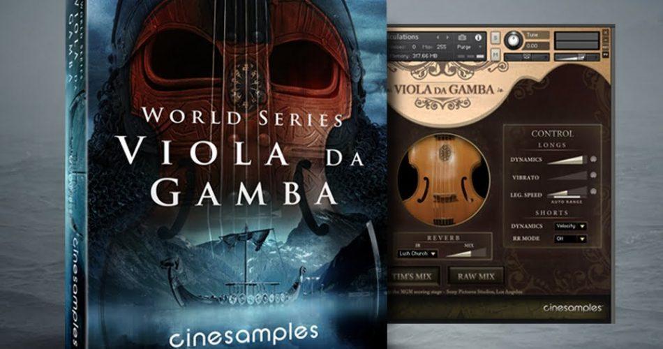 Cinesamples Viola Da Gamba feat