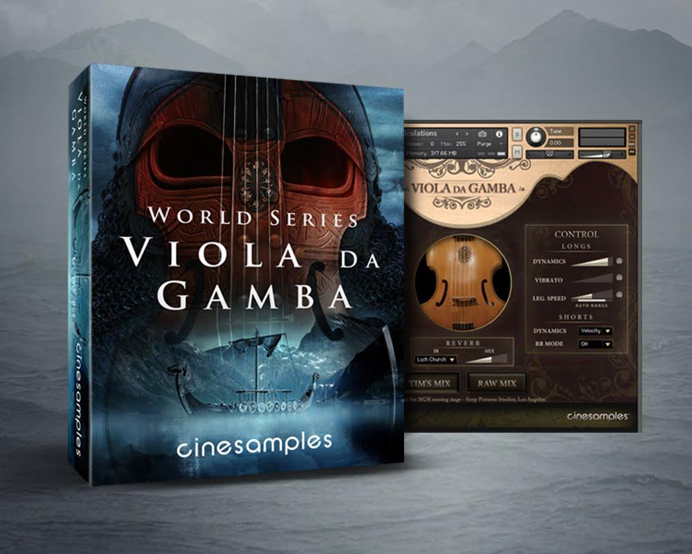 Falcon For Sale >> Cinesamples Viola da Gamba for NI Kontakt released