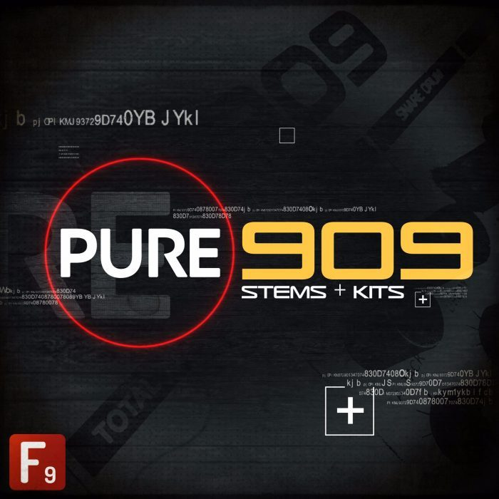 F9 Audio Pure 909 Stems & Kits
