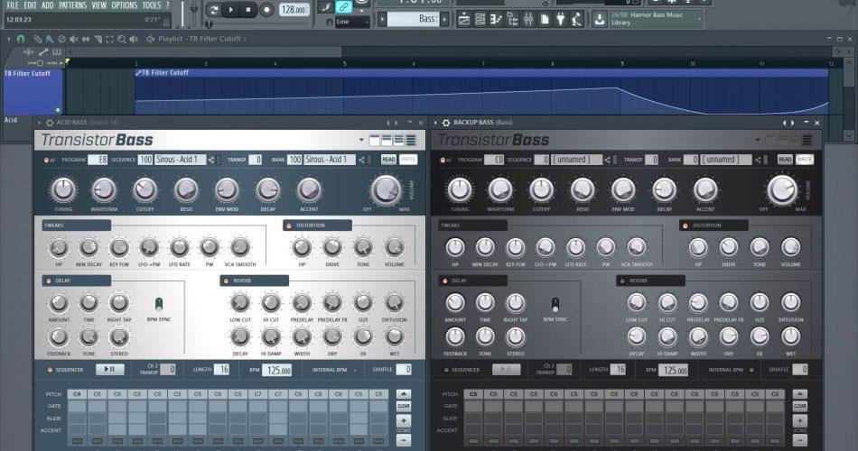 FL Studio 12.4 Transistor Bass