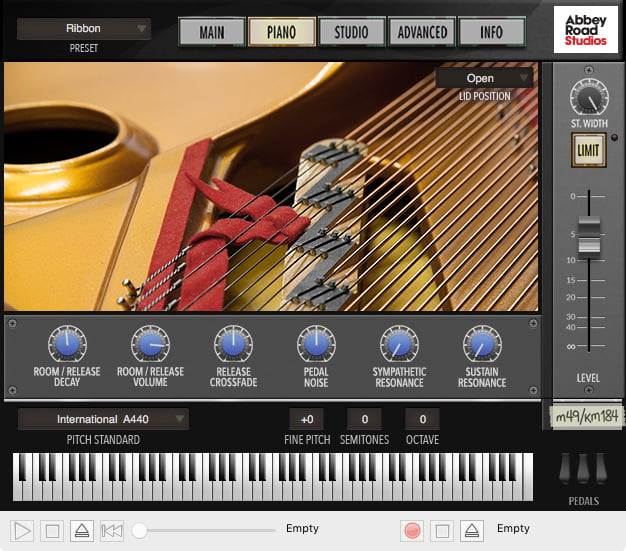 Garritan Abbey Road Studios CFX Lite piano