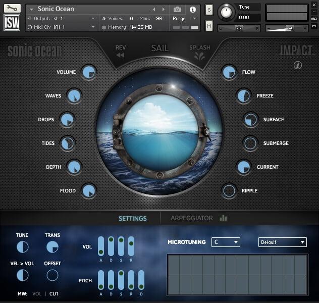 Impact Soundworks Sonic Ocean