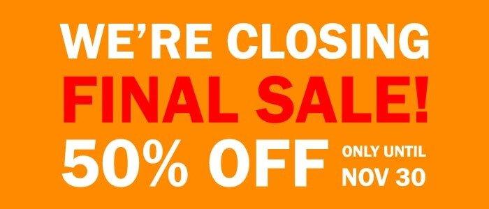 Loopbased Final Closing Sale