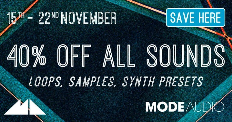 Loopmasters ModeAudio sale