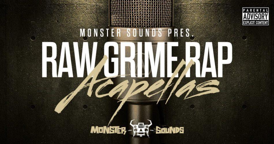 Monster Sounds Raw Grime Rap Acapellas