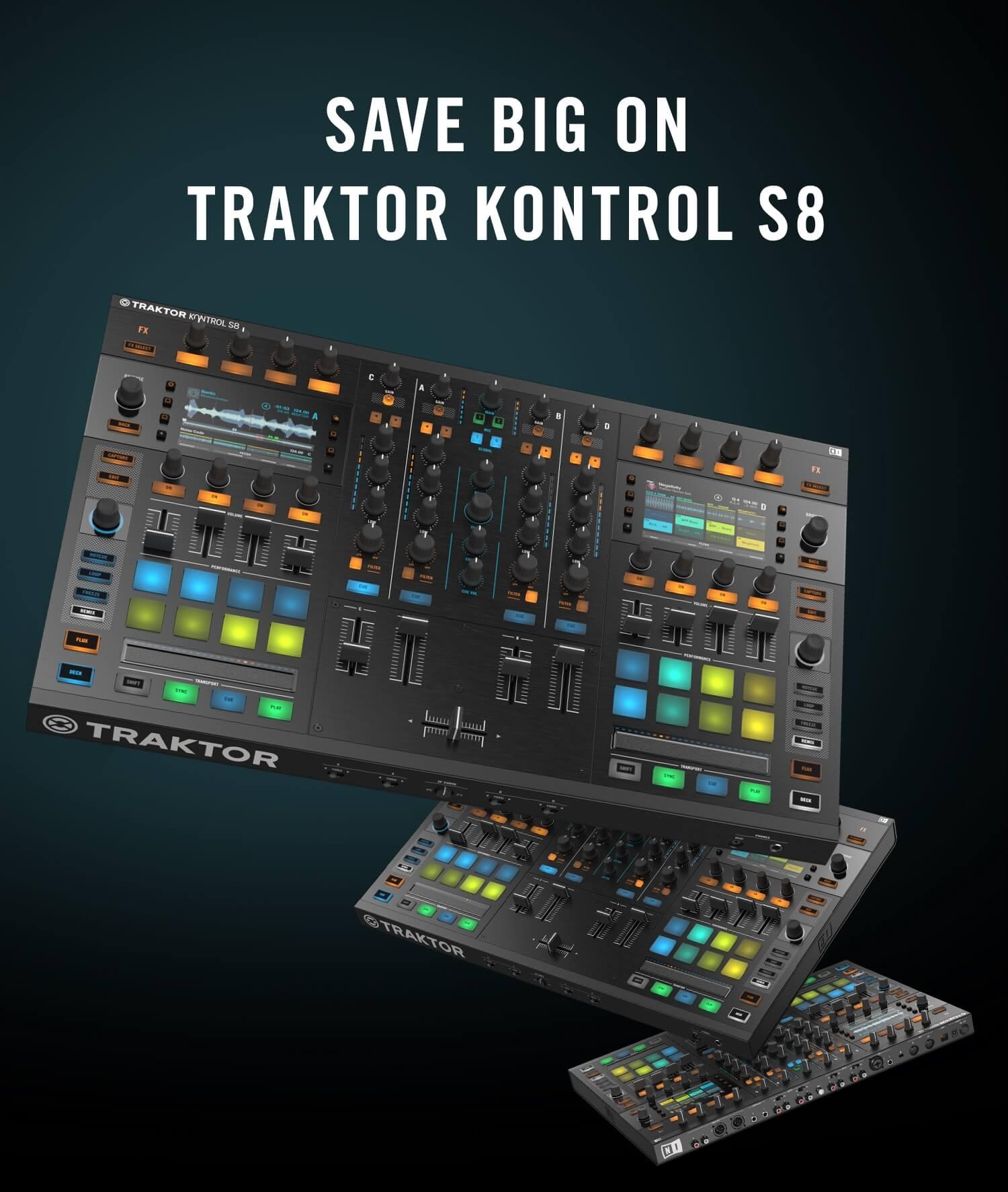 Save 200 Eur Usd Off Native Instruments Traktor Kontrol S8