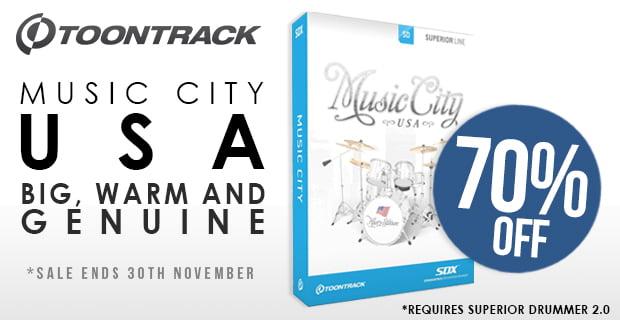 PIB Toontrack Music City USA SDX