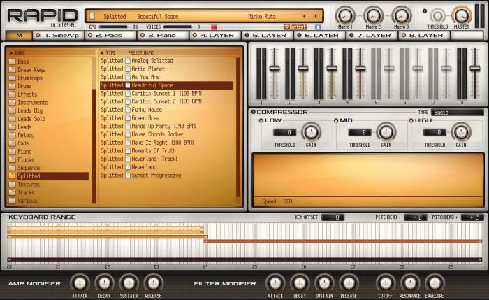 Parawave Audio Rapid master page