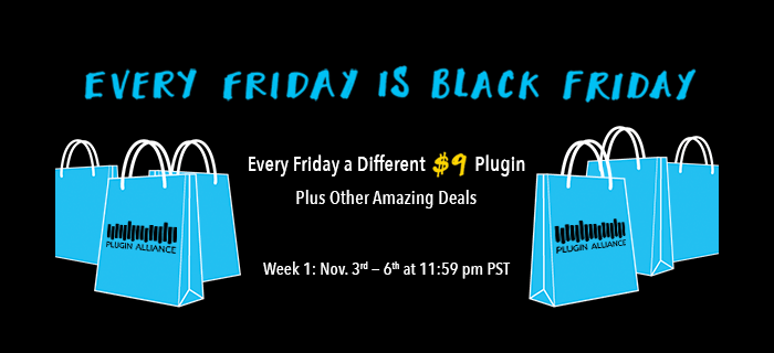 Plugin Alliance Black Friday Week 1
