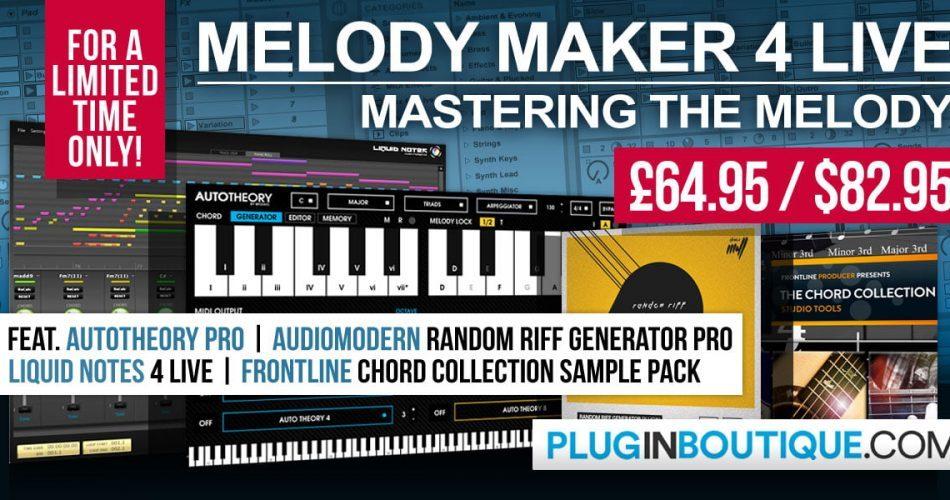 Plugin Boutique Melody Maker 4 Live Bundle