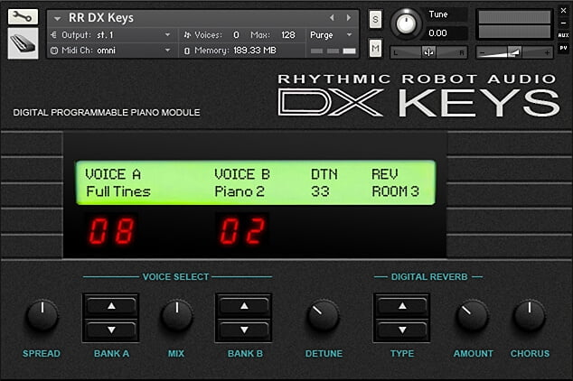 Rhythmic Robot DX Keys