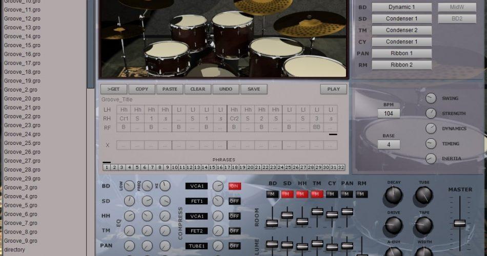 SKnote MotorTown Drumset