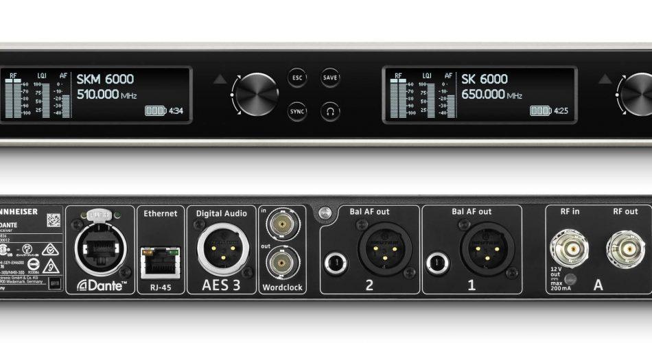 Sennheiser EM 6000 Receiver