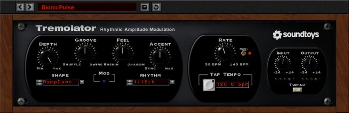 Soundtoys Tremolator