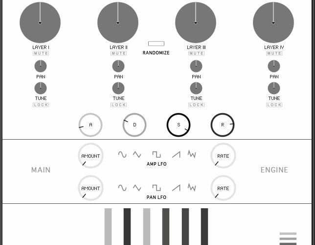 String Audio Dark Matter